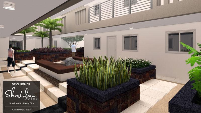 Sheridan Atrium Garden