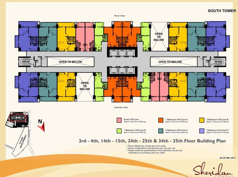 Sheridan Floor layout 2