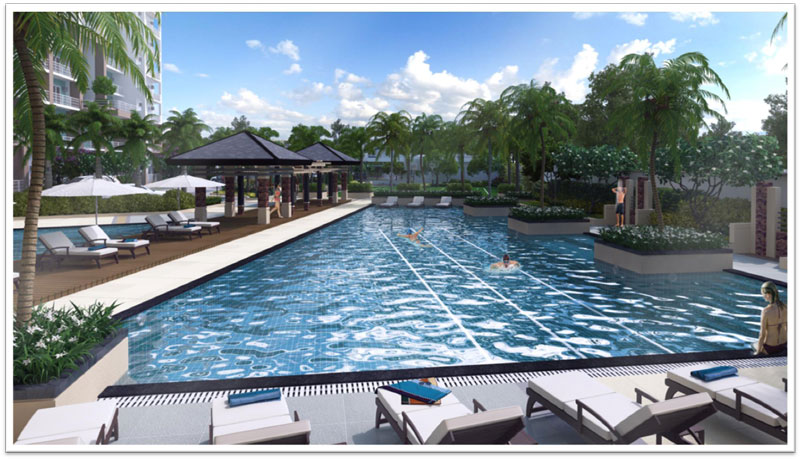 Lumiere Residences Lap Pool & Deck