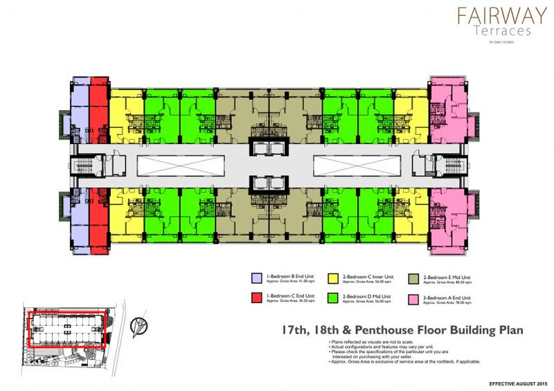Fairway Terraces Floorplan