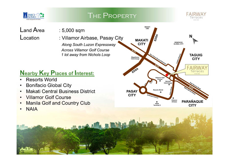 Fairway Terraces Nearby Locations