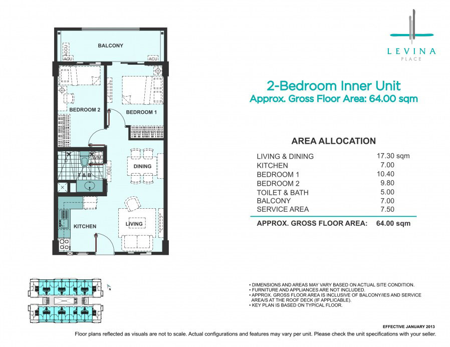 Levina Place 2 Bedroom