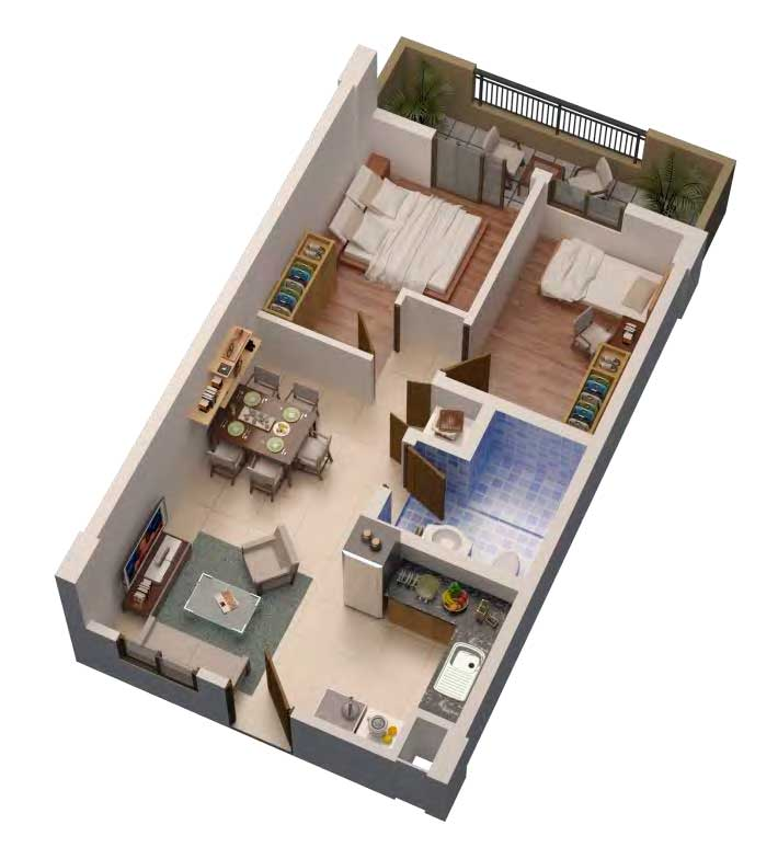 Maple Place 2 Bedroom