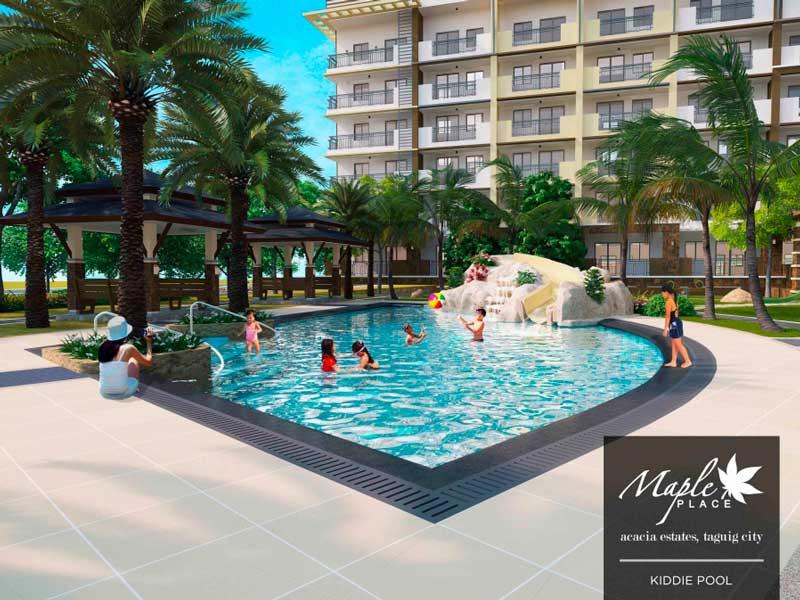 Maple Place Kiddie Pool