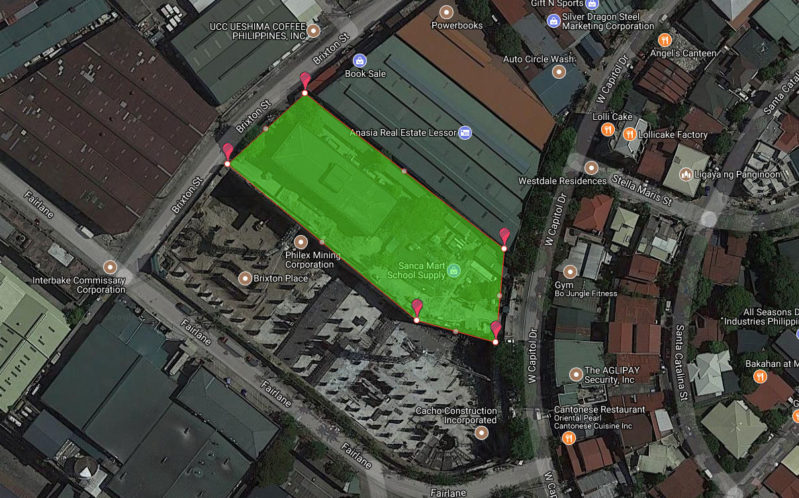 Fairlane Residences Site Development Plan